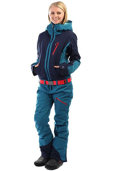 Комбинезон сноубордический женский Roxy Impression Suit Ink Blue недорого