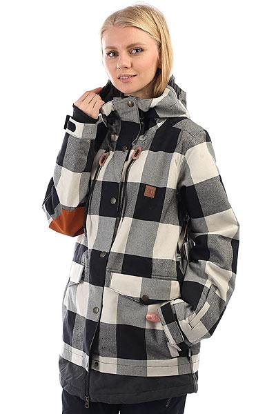 Куртка утепленная женская DC Riji Se Buffalo Plaid dc shoes кеды dc heathrow se 11