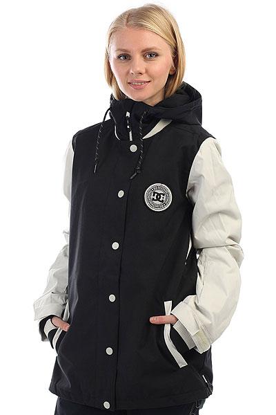 Куртка утепленная женская DC женская DCla Black куртки dc shoes куртка