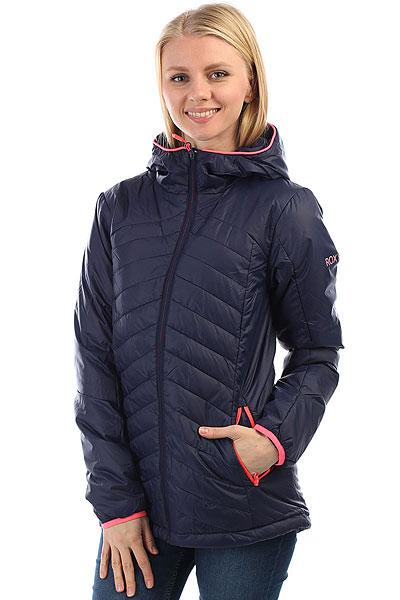 куртка женская roxy billie цвет бирюзовый erjtj03121 bfk0 размер s 42 Куртка женская Roxy Highlight Peacoat