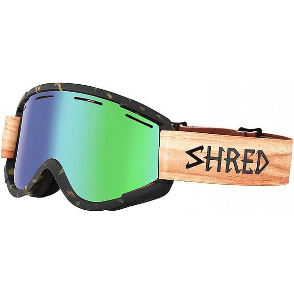 Маска для сноуборда Shred Nastify Shnerdwood Tortoise/Wood