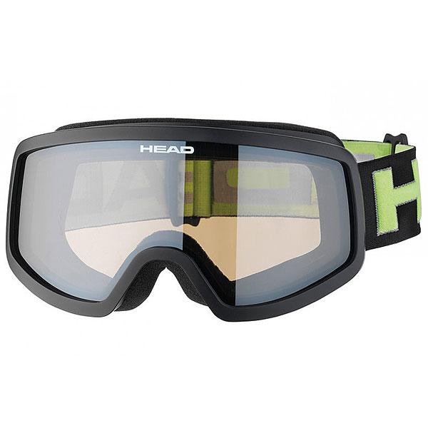 Маска для сноуборда Head Stream Black/LimeУниверсальная маска для любых погодных условий. Бюджетный вариант маски с отличной линзой и широким полем обзора. Бестселлер!Характеристики:Прессованный преформованный поликарбонатный двойной линзовый блок. Внутренняя поверхность обработана слоем анитифога предотвращающим запотевание. Защита UV 400. Совместимость со шлемом. Плотный упаковочный чехол в комплекте.<br><br>Цвет: черный,Светло-зеленый<br>Тип: Маска для сноуборда<br>Возраст: Взрослый<br>Пол: Мужской
