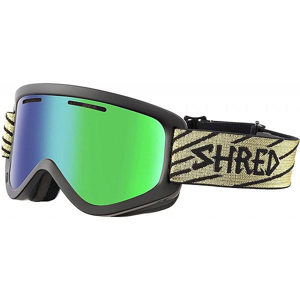 Маска для сноуборда Shred Wonderfy Black<br><br>Цвет: черный<br>Тип: Маска для сноуборда<br>Возраст: Взрослый<br>Пол: Мужской