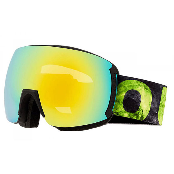 Маска для сноуборда OUT OF Earth Viper Green маска для сноуборда dragon mdx nerve green ionized clear aft