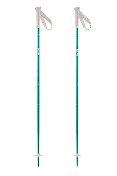 Лыжные палки женские Head Joy Aqua цикл палки лыжные с рисунком 105 см цикл