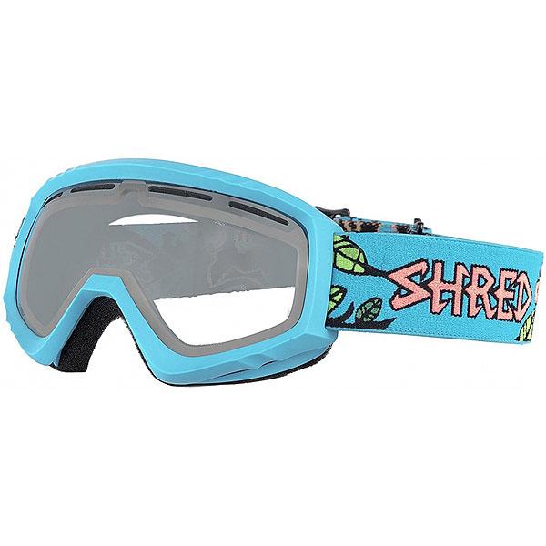 Маска для сноуборда Shred Mini Dragosaurus Neon Blue<br><br>Цвет: голубой<br>Тип: Маска для сноуборда<br>Возраст: Взрослый<br>Пол: Мужской