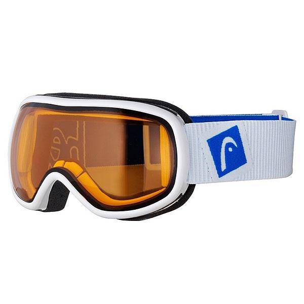 Маска для сноуборда Head Ninja White/Blue<br><br>Цвет: белый,синий<br>Тип: Маска для сноуборда<br>Возраст: Взрослый<br>Пол: Мужской