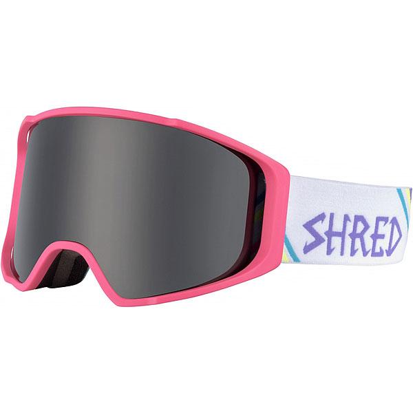 Маска для сноуборда Shred Simplify Stealth Neon PinkИнновационная маска с широким периферийным обзором и максимальным комфортом.Технические характеристики: Двойные цилиндрические линзы.Технология CONTRAST BOOSTING LENS обеспечивает лучшую видимость в различных условиях снега и освещенности.Превосходная посадка.Технология NODISTORTION® обеспечивает четкое зрение на любой высоте.Технология NOCLOG - периферическая вентиляция маски обработана гидрофобным составом, не дающим тающему снегу и воде закупорить вентиляционные отверстия.Покрытие против запотевания.Совместима со шлемом.Прослойка из пены.Обработка линзы по технологии NOREFLECT позволяет избежать отражений во внутренней линзе.<br><br>Цвет: розовый<br>Тип: Маска для сноуборда<br>Возраст: Взрослый<br>Пол: Мужской