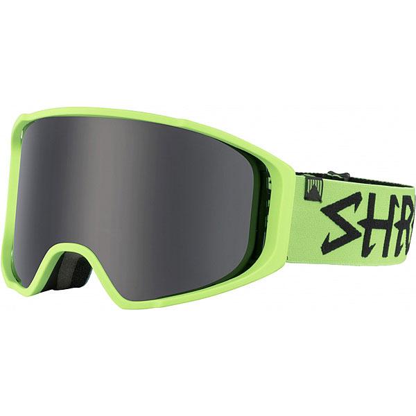 Маска для сноуборда Shred Simplify Green/ Machine Stealth маска для сноуборда dragon mdx nerve green ionized clear aft