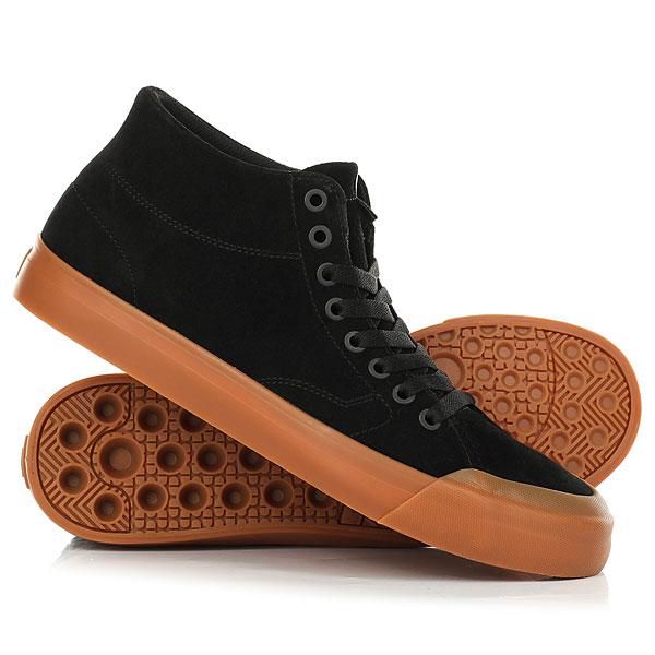 Кеды кроссовки высокие DC Evan Hi Zero Black/Gum кеды кроссовки высокие женские dc rebound high tx navy gum