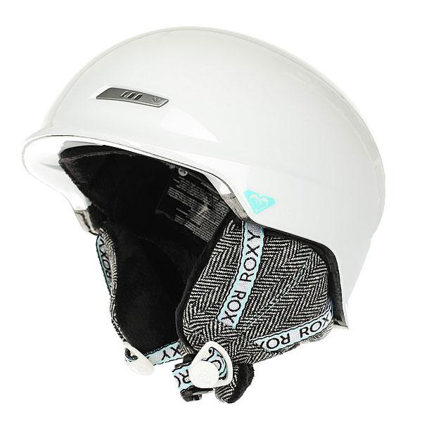 Шлем для сноуборда женский Roxy Angie Bright White roxy шлем для сноуборда power powder magenta purple 60