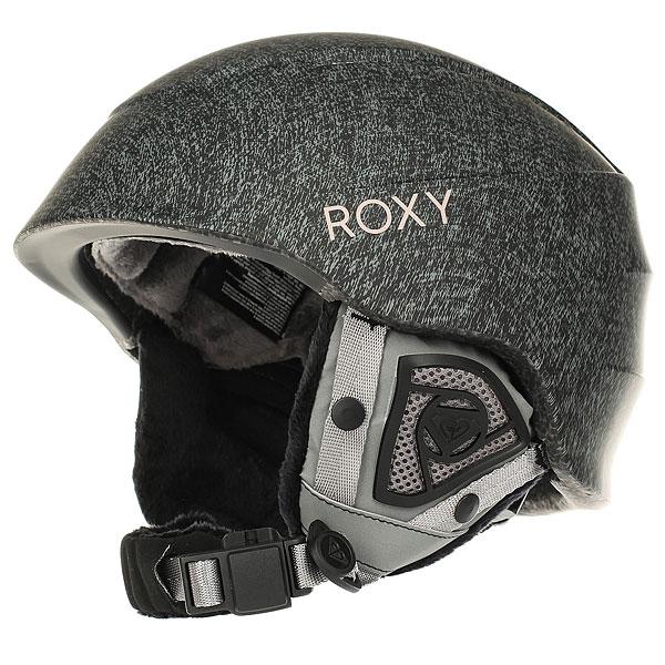 Шлем для сноуборда женский Roxy Millbury Heritage Heather roxy шлем для сноуборда power powder magenta purple 60
