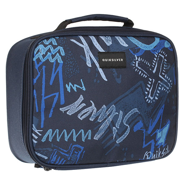Косметичка детская Quiksilver Lunch ladyland Dark Denim Thunderbo aosbos fashion portable insulated canvas lunch bag thermal food picnic lunch bags for women kids men cooler lunch box bag tote