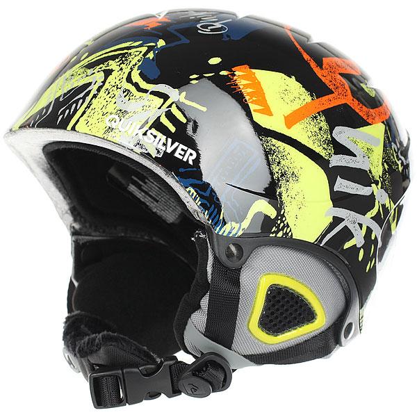 Шлем для сноуборда детский Quiksilver The Game Black Thunderbolt<br><br>Цвет: мультиколор,черный<br>Тип: Шлем для сноуборда<br>Возраст: Детский