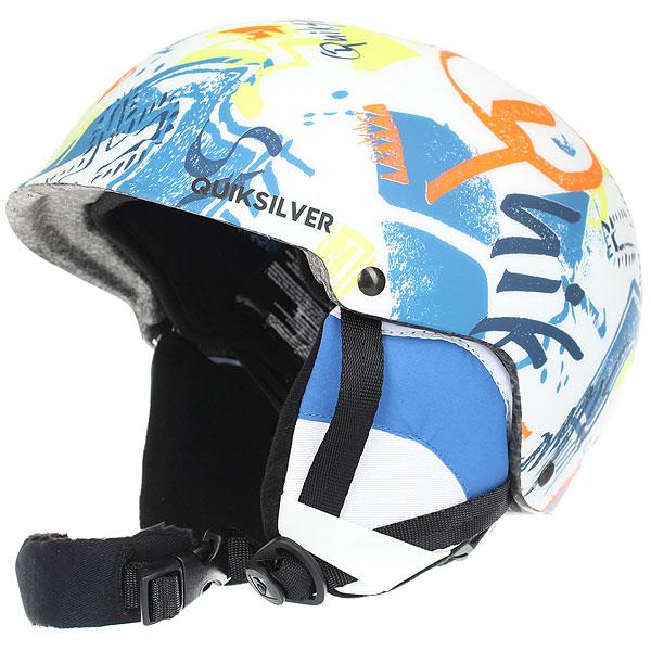 Шлем для сноуборда детский Quiksilver Empire White Youth Thunderbird<br><br>Цвет: мультиколор,белый<br>Тип: Шлем для сноуборда<br>Возраст: Детский