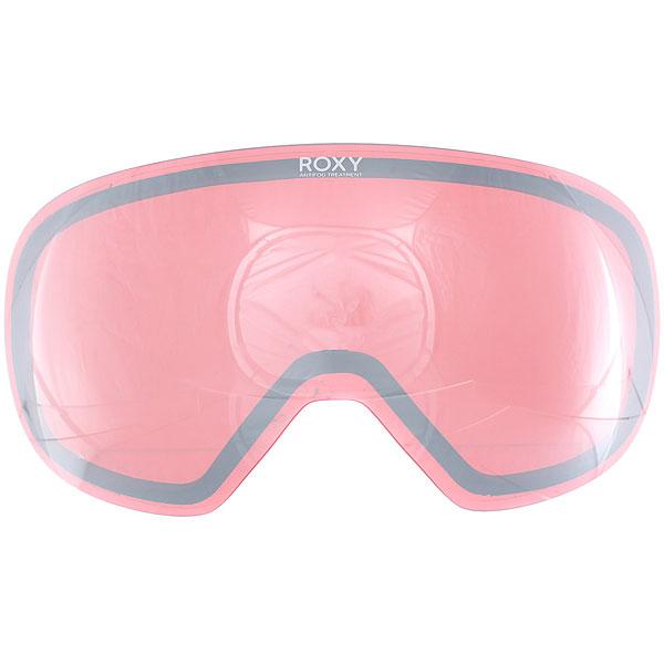 Линза для маски женская Roxy Popscreen Mir Pink/Silver Chrome линза для маски женская roxy isis bas lns orange