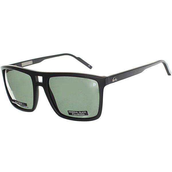 Очки Quiksilver Brigade Matte Black/Glass P очки quiksilver hideout plz pc matte black yellow p