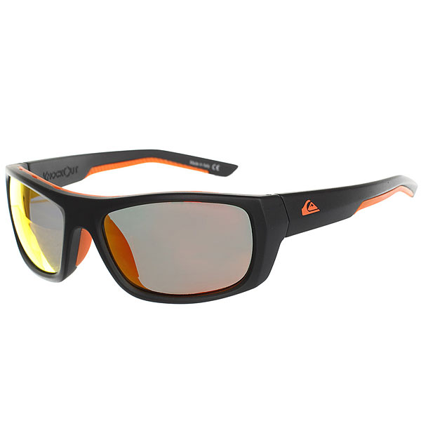 Очки Quiksilver Knockout Matte Black-Orange очки quiksilver hideout plz pc matte black yellow p