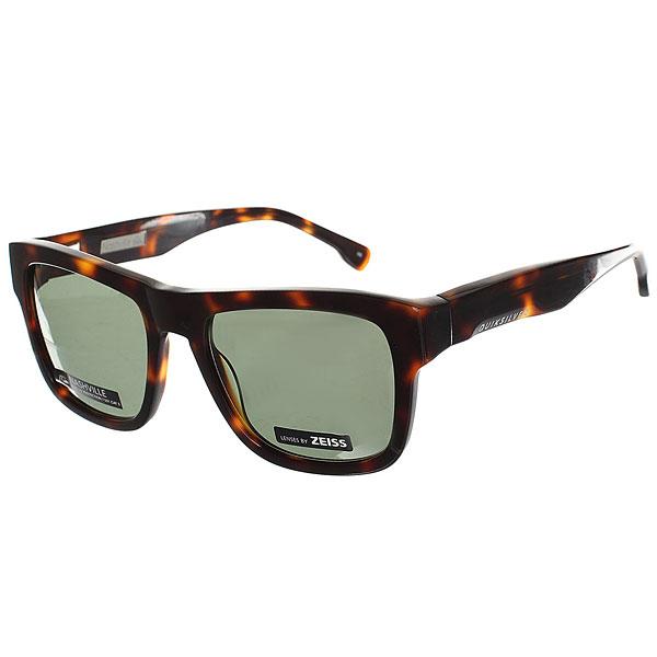 Очки Quiksilver Nashville Shiny Tortoise/Green очки с деревянной оправой киев