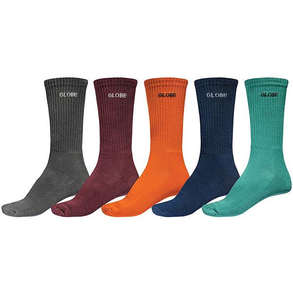 Комлект носков Globe Kensington Crew Sock<br><br>Цвет: мультиколор<br>Тип: Комлект носков<br>Возраст: Взрослый<br>Пол: Мужской