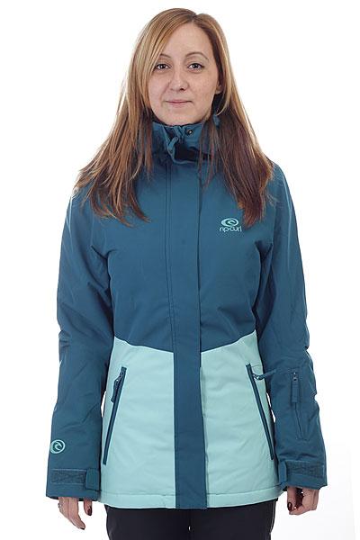 Куртка утепленная женская Rip Curl Betty  Ink BlueКлассическая куртка Betty для активного отдыха на склоне. Мембрана, утеплитель и необходимые функции для комфорта в течение всего дня.Технические характеристики: Прочный полиэстер OXFORD.Критические швы проклеены.Утеплитель 100/80 гр.Регулируемый капюшон.Молнии YKK.Карманы для рук, карман для скипасса, медиакарман и карман для маски.Вентиляционные молнии с подкладкой из сетки.Внутренние манжеты из лайкры.Фиксированная снежная юбка.Застежка на молнию с ветрозащитным клапаном.<br><br>Цвет: синий,голубой<br>Тип: Куртка утепленная<br>Возраст: Взрослый<br>Пол: Женский