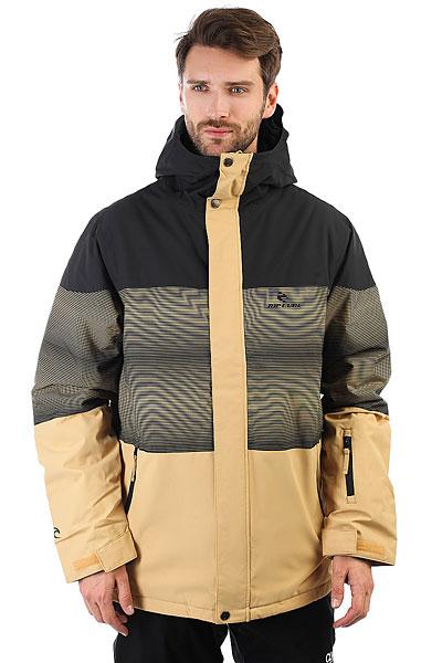 Куртка утепленная Rip CurlУниверсальная куртка для города и склона. Мембрана, утеплитель и удобные карманы для необходимых вещей.Технические характеристики: Прочный полиэстер OXFORD.Подкладка из нейлона.Критические швы проклеены.Утеплитель 100/80 гр.Регулируемый капюшон.Молнии YKK.Карманы для рук, карман для скипасса, медиакарман и карман для маски.Вентиляционные молнии с подкладкой из сетки.Внутренние манжеты из лайкры.Фиксированная снежная юбка.Застежка на молнию с ветрозащитным клапаном.<br><br>Цвет: желтый,черный,бежевый<br>Тип: Куртка утепленная<br>Возраст: Взрослый<br>Пол: Мужской