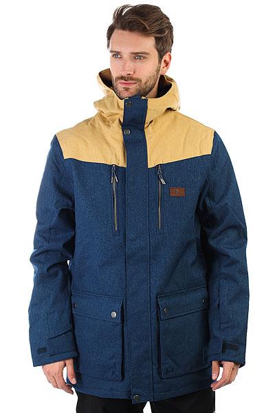 Куртка утепленная Rip Curl Cabin Gum Insignia BlueСтильная куртка парка, которая сочетает в себе тепло и оптимальные характеристики.Технические характеристики: Эластичная ткань 2-way.Подкладка из нейлона.Молнии YKK.Критические швы проклеены.Регулируемый капюшон.Карманы для рук, карман для скипасса, медиакарман и карман для маски.Вентиляционные молнии с подкладкой из сетки.Внутренние манжеты из лайкры.Фиксированная снежная юбка.Застежка на молнию с ветрозащитным клапаном.<br><br>Цвет: бежевый,синий<br>Тип: Куртка утепленная<br>Возраст: Взрослый<br>Пол: Мужской