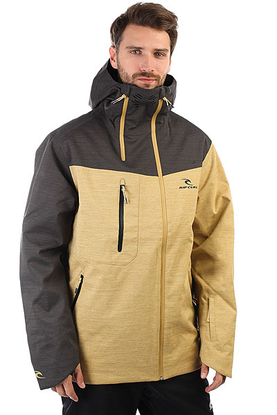 Куртка утепленная Rip Curl Core Gum Prairie Sand куртка утепленная rip curl rip curl ri027emyxq82