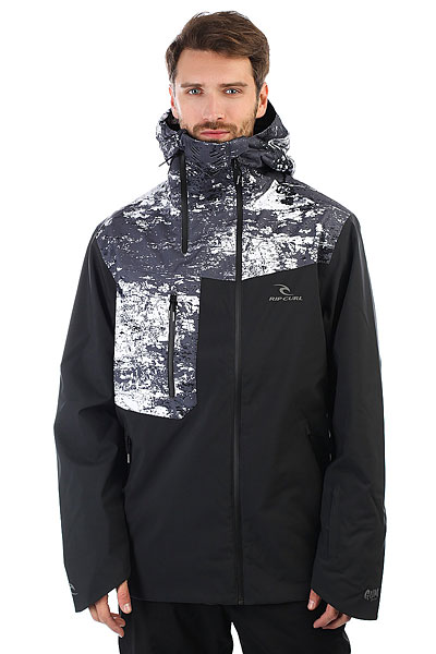Куртка утепленная Rip Curl Core Gum Jet Black штаны сноубордические rip curl core gum orange
