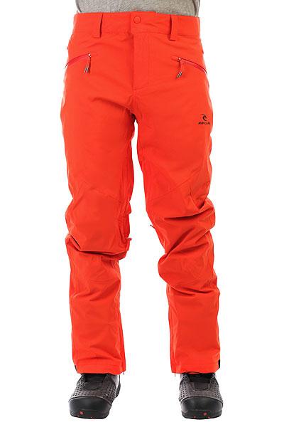 Штаны сноубордические Rip Curl Core Gum Orange брюки сноубордические rip curl штаны qanik fancy pt