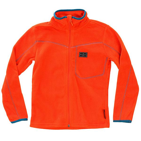 Купить со скидкой Толстовка классическая детская Rip Curl Jr Micro Fleece Fz Orange