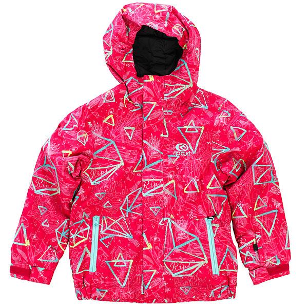 Куртка утепленная детская Rip Curl Enigma Jr JazzyТехнологичная куртка RIP CURL ENIGMA с мембраной 10 на 10 из прочного материала обеспечит Вас полной свободой движений и надёжной защитой в различных погодных условиях на весь катальный сезон. Двухпанельный дизайн подчеркнет Вашу индивидуальность как на склоне, так и в городе.Характеристики:Прочная верхняя ткань Oxford с влагостойкой дышащей мембраной с показателями 10 000 мм / 10 000 г. Нейлоновая подкладка.Обработка ткани пропиткой DWR. Критические швы проклеены.Центральная молния по всей длине с ветрозащитным клапаном.Регулируемый капюшон. Прочные молнии YKK. Боковые карманы для рук на молнии. Внутренний карман. Карман на рукаве для ски-пасса.Регулируемые манжеты. Фирменный логотип на груди.<br><br>Цвет: розовый<br>Тип: Куртка утепленная<br>Возраст: Детский