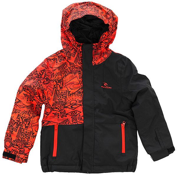 Куртка утепленная детская Rip Curl Enigma Jr OrangeТехнологичная куртка RIP CURL ENIGMA с мембраной 10 на 10 из прочного материала обеспечит Вас полной свободой движений и надёжной защитой в различных погодных условиях на весь катальный сезон. Двухпанельный дизайн подчеркнет Вашу индивидуальность как на склоне, так и в городе.Характеристики:Прочная верхняя ткань Oxford с влагостойкой дышащей мембраной с показателями 10 000 мм / 10 000 г. Нейлоновая подкладка.Обработка ткани пропиткой DWR. Критические швы проклеены.Центральная молния по всей длине с ветрозащитным клапаном.Регулируемый капюшон. Прочные молнии YKK. Боковые карманы для рук на молнии. Внутренний карман. Карман на рукаве для ски-пасса.Регулируемые манжеты. Фирменный логотип на груди.<br><br>Цвет: черный,оранжевый<br>Тип: Куртка утепленная<br>Возраст: Детский