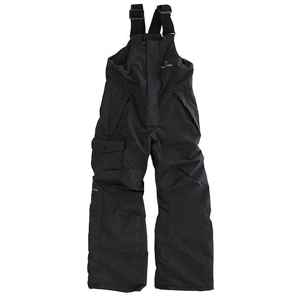Комбинезон сноубордический детский Rip Curl Bib Jr Jet BlackВысокотехнологичные штаны, всегда готовые защитить Вас от холода и влаги, обеспечив комфорт во время катания. Удобный и функциональный нагрудник защитит от снега и ветра, эластичные лямки позволят быстро отрегулировать размер, полностью проклеенные швы не дадут ни малейшего шанса влаге проникнуть внутрь, а хорошая мембрана быстро выпустит лишнее наружу.Характеристики:СерияGUM. Верх из прочного материала, тянущегося в 4-х направлениях. Дышащая влагостойкая мембранная ткань (40000 мм / 30000 г/м2). Обработка ткани DWR пропиткой. Подкладка Clima Mapping.Нагрудная панель. Регулируемые эластичные плечевые ремни. Полностью проклеенные швы.Влагостойкие молнии YKK. Карманы для рук. Задний карман на молнии. Петли для ремня. Вентиляционные сетчатые карманы с внутренней стороны бедер. Эластичные гейторы для сноубордических ботинок. Низ штанин на молнии с возможностью расширения.<br><br>Цвет: черный<br>Тип: Комбинезон сноубордический<br>Возраст: Детский