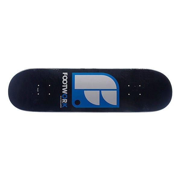 Дека для скейтборда для скейтборда Footwork Original Classic Logo Black 32 x 8.375 (21.3 см)