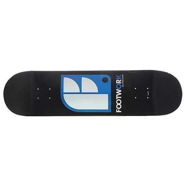 Дека для скейтборда для скейтборда Footwork Original Logo Black 32.5 x 8.25 (21 см) дека для скейтборда для скейтборда footwork progress artist series globe 31 875 x 8 125 20 6 см
