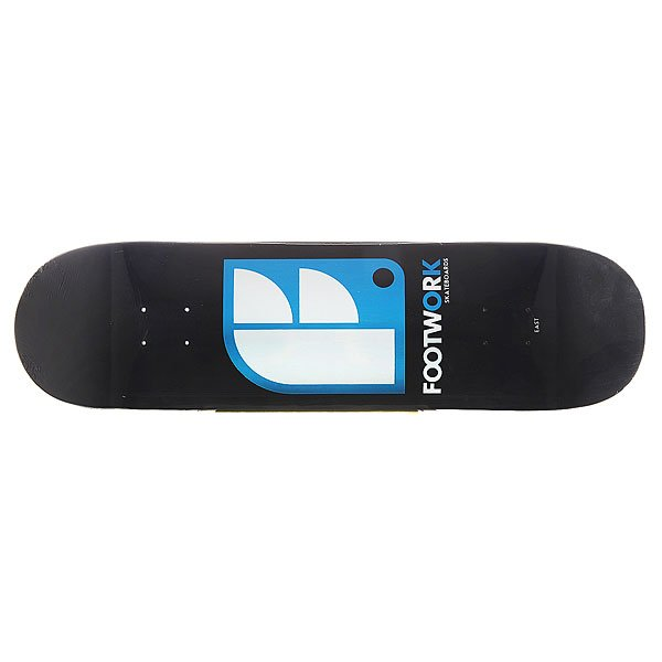Дека для скейтборда для скейтборда Footwork Original Logo Black 32.2 x 8.5 (21.6 см) дека для скейтборда для скейтборда footwork progress artist series globe 31 875 x 8 125 20 6 см