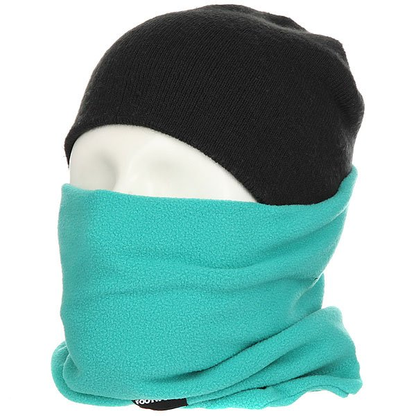 Шарф труба Footwork Hoop Neckwarmer Teal шарфы j ploenes шарф