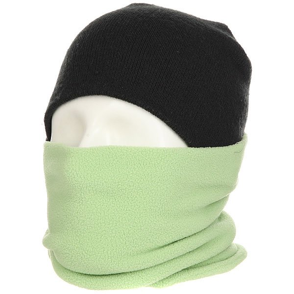 Шарф труба Footwork Hoop Neckwarmer Neon Green/Yellow шарфы j ploenes шарф