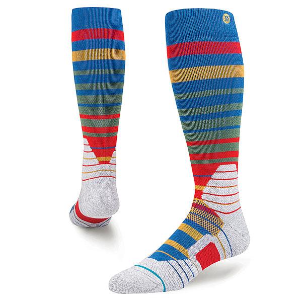 Носки высокие Stance Snow Ralph Navy<br><br>Цвет: мультиколор<br>Тип: Носки высокие<br>Возраст: Взрослый<br>Пол: Мужской