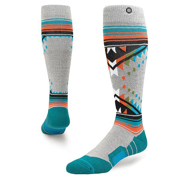 Носки высокие Stance Snow Whitmore Grey Heather носки nike носки nike running dri fit cushion d