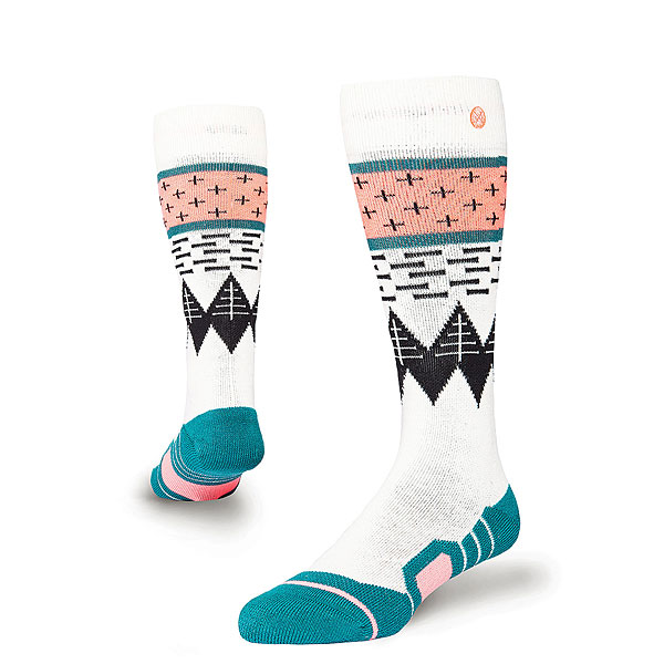 Носки высокие детские Stance Snow Outland Kids Black носки высокие stance rival black