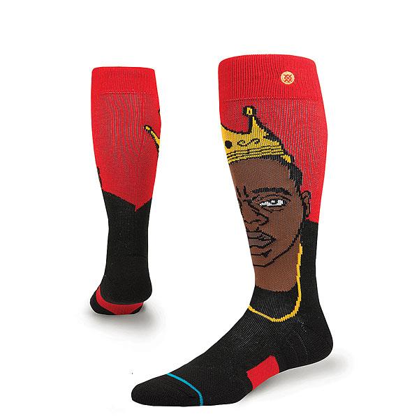 Носки высокие детские Stance Snow Smalls Red<br><br>Цвет: черный,красный<br>Тип: Носки высокие<br>Возраст: Детский