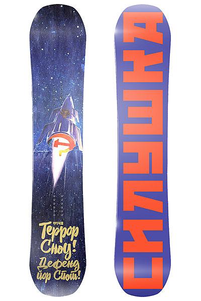 Сноуборд Terror Snow Power Dark BlueРакета-сноуборд Terror Power вобрала в себя всю мощь, силу и инновационные технологии. Vario кэмбер, карбоновые стрингеры, жесткость выше средней и технология обрезанных носов - теперь Ваша стихия и выпавший снег и построенный кикер. Стартуем!Характеристики:Форма Twin-Tip: симметричная геометрия доски, позволяющая кататься как в своей стойке, так и в свиче. Прогиб Vario Camber: рокер посередине и классические загибы по краям; будет держать на плаву в глубоком снегу и не будет выскальзывать на приземлениях трамплинов. Карбоновые стрингеры: полоски карбона, придающие упругость на носах и предельную прочность для самых жестких приземлений. Сердечник из бамбука. Верх: ламинированная поверхность с защитой от ультрафиолета. Спеченный скользяк Sintered Base: отлично впитывает парафин, менее подвержен повреждениям и быстро разгоняется. Технология обрезанных носов: увеличенная площадь соприкосновения со снегом, за счет чего увеличивается скорость.<br><br>Цвет: синий<br>Тип: Сноуборд<br>Возраст: Взрослый<br>Пол: Мужской