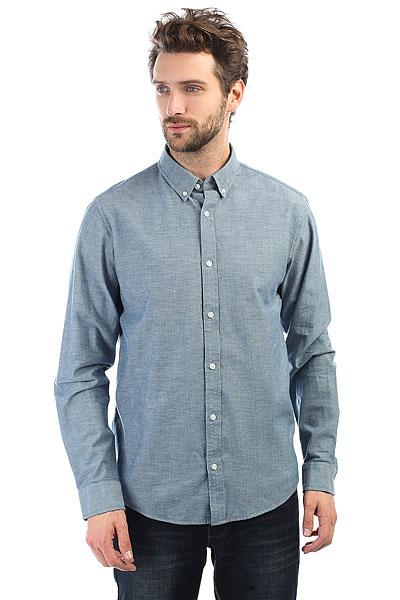 Рубашка Carhartt WIP Kyoto Shirt Blue(Stone Washed)<br><br>Цвет: Светло-синий<br>Тип: Рубашка<br>Возраст: Взрослый<br>Пол: Мужской