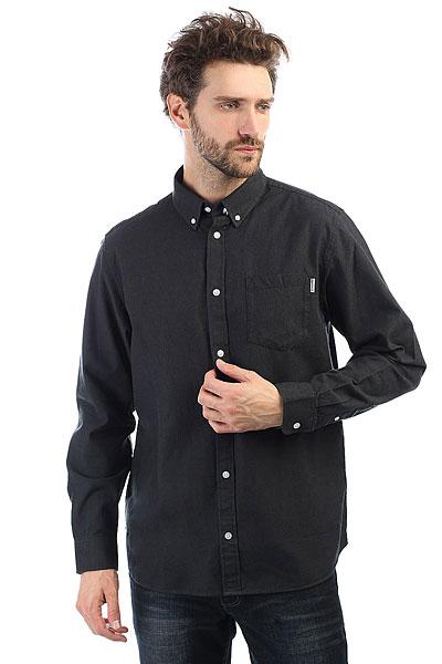 Рубашка Carhartt WIP Dalton Shirt Black<br><br>Цвет: черный<br>Тип: Рубашка<br>Возраст: Взрослый<br>Пол: Мужской