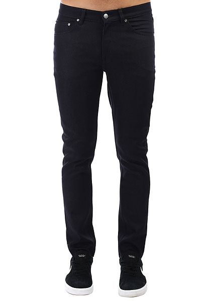 Джинсы прямые Cheap Monday Sonic Unwashed Black