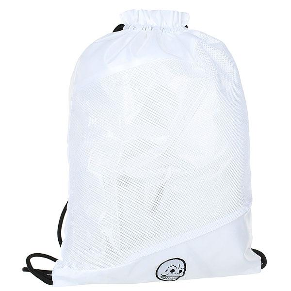 Мешок Cheap Monday Rapid Gym Bag White<br><br>Цвет: белый<br>Тип: Мешок<br>Возраст: Взрослый<br>Пол: Мужской