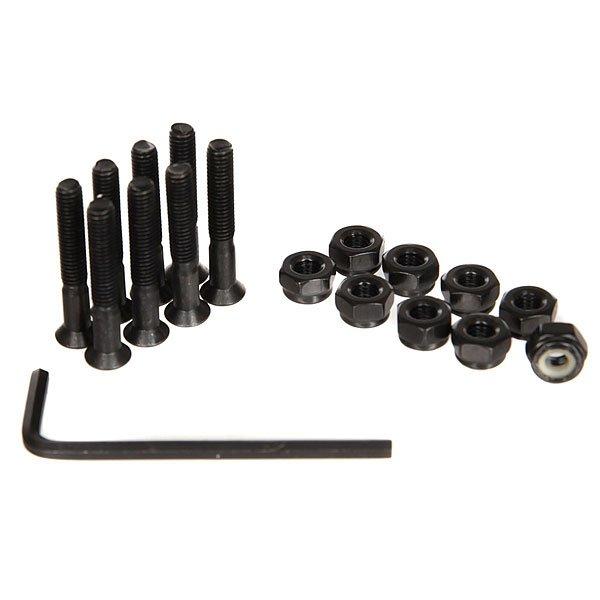 Винты для лонгборда Eastcoast Cruisers Hardware Black 1,25Цена указана за 1 комплект из 8 болтов, 8 гаекКомплект металлических винтов для лонгборда.Технические характеристики: Комплект из 8 гаек и болтов.Шестигранный ключ.Размер 1,25.<br><br>Цвет: черный<br>Тип: Винты для лонгборда<br>Возраст: Взрослый<br>Пол: Мужской