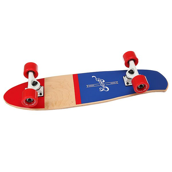 Скейт мини круизер Eastcoast Shelby Nautica 7.25 x 27 (68.5 см) колеса для скейтборда для лонгборда eastcoast shelby white 78a 65 mm